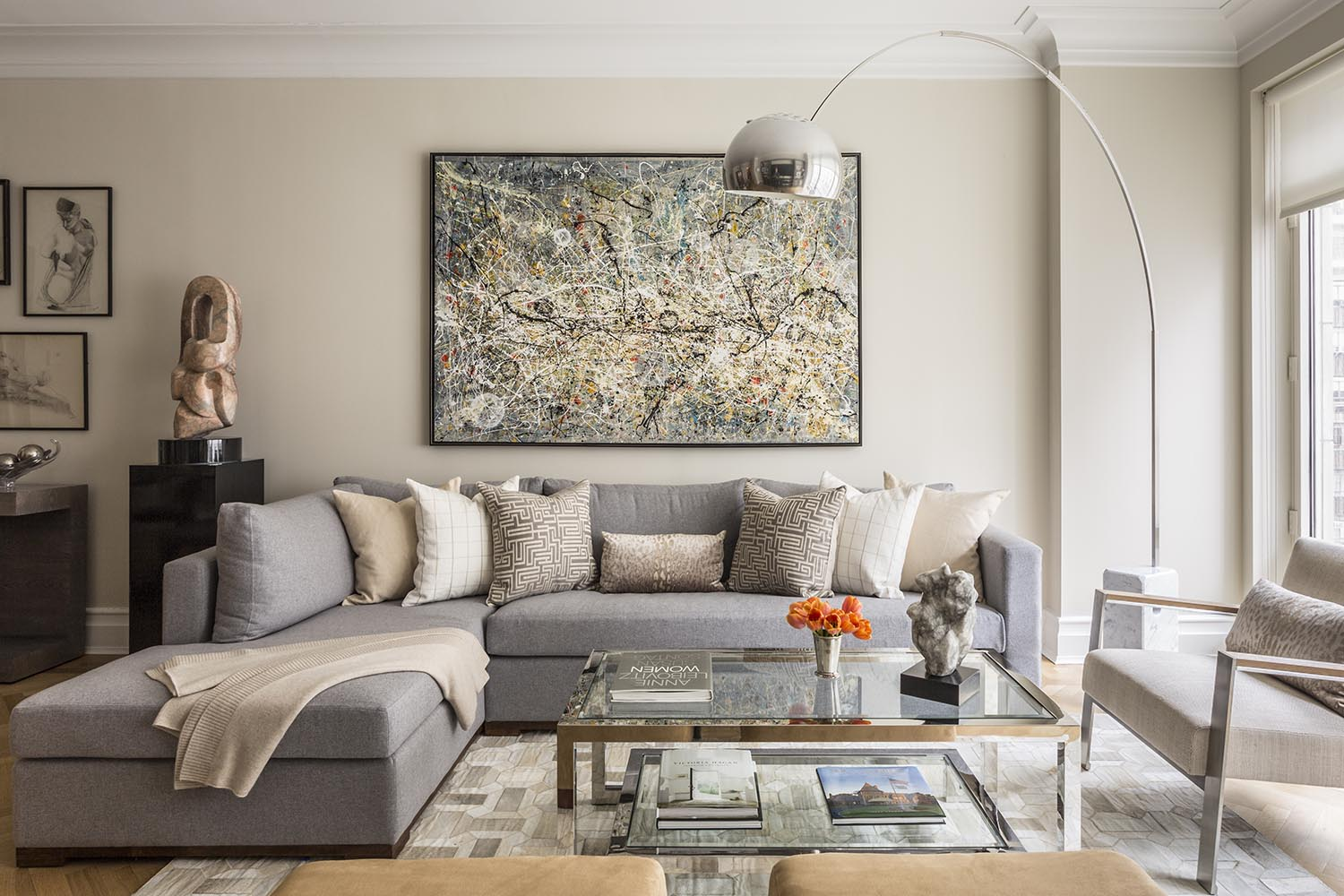 Central park west pied a terre michele safra interiors for Nyc pied a terre