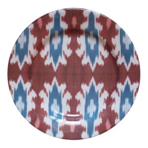 Ceramic IKAT Dinner Plate