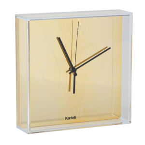 Gold Tic & Tac Clock
