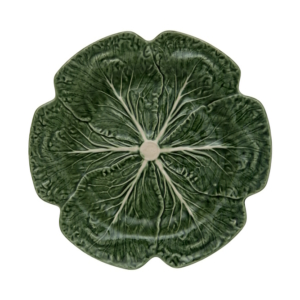 Green Cabbage Charger Plate