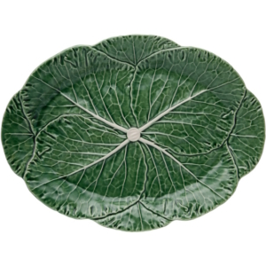 Green Cabbage Oval Platter