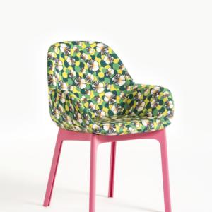 Clap Pink Frame Ninfea Chair