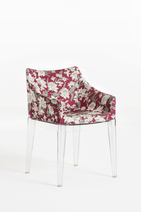 Crystal Frame Lilium Red Chair