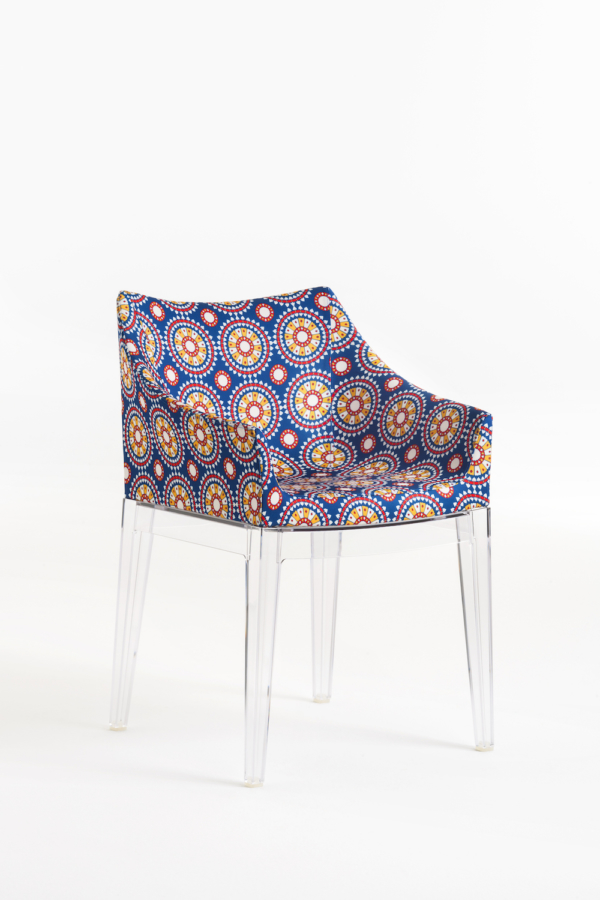 La Double J - Kartell Madame Crystal Frame Ruote Chair