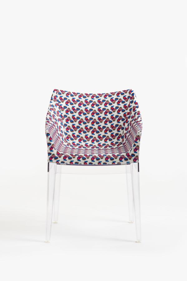 Crystal Frame Galletti Chair