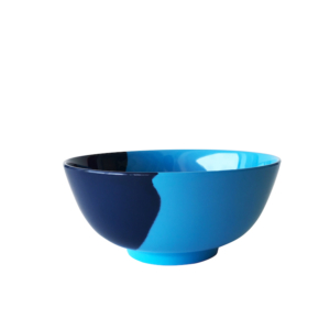 Melamine Blue Bowl