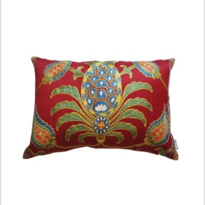 handmade embroidered cushion