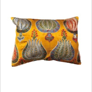 suzani Ikat cushion