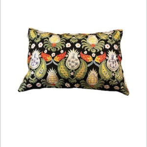 Silk suzani cushion