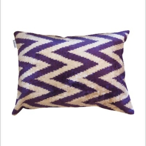 Ikat decor cushion