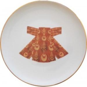 Kaftan Porcelain Dinner Plate