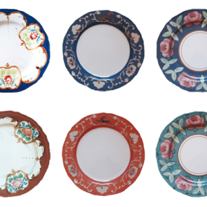 uzbech collection plates 6 mix
