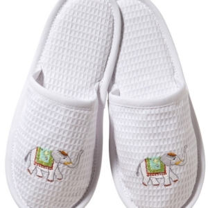 Slippers (Closed Toe) - Charming Elephant
