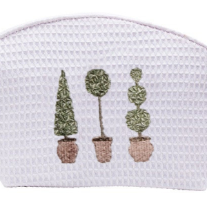 olive cosmetic bag