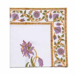 lilac fields napkin