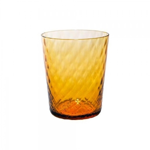 VENEZIANO TUMBLER - AMBER (SET OF 6)