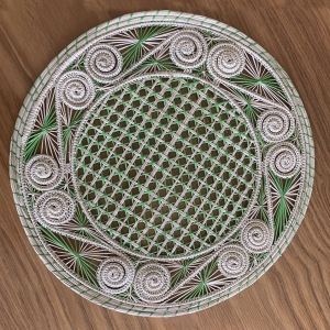 Green Straw placemat