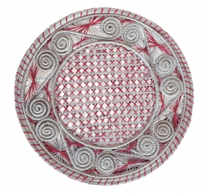Red Straw placemat