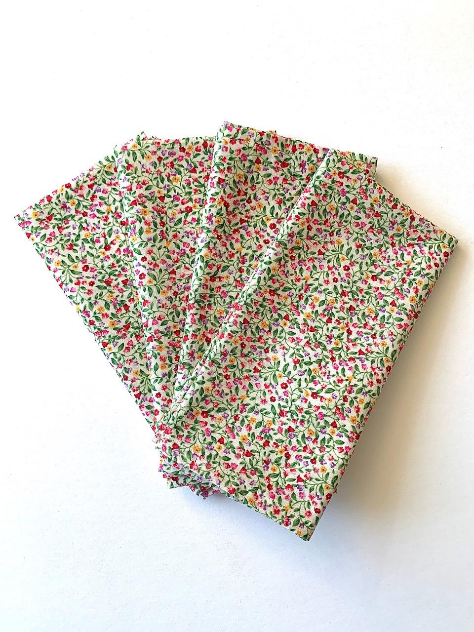 Set of 4 Fiorellino napkins