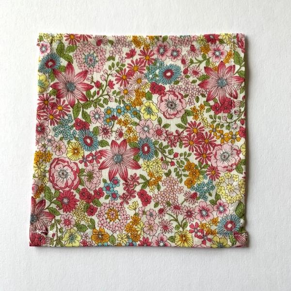 Liberty print Primavera cotton cocktail napkin