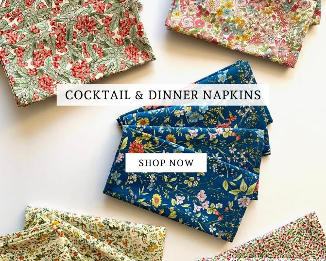 COCKTAILS & DINNER NAPKINS