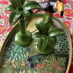 Ceramic Palms