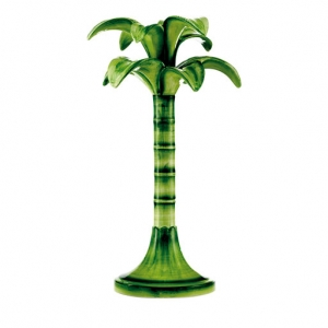 large Palm candlestick