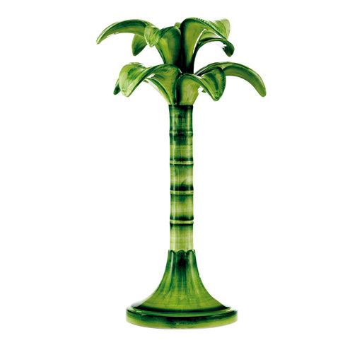 large Palm candlestick