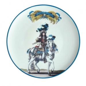 Porcelain dinner plate Le carousel 1