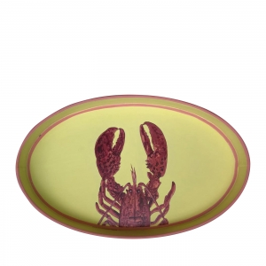 Lobster Yellow Iron tray