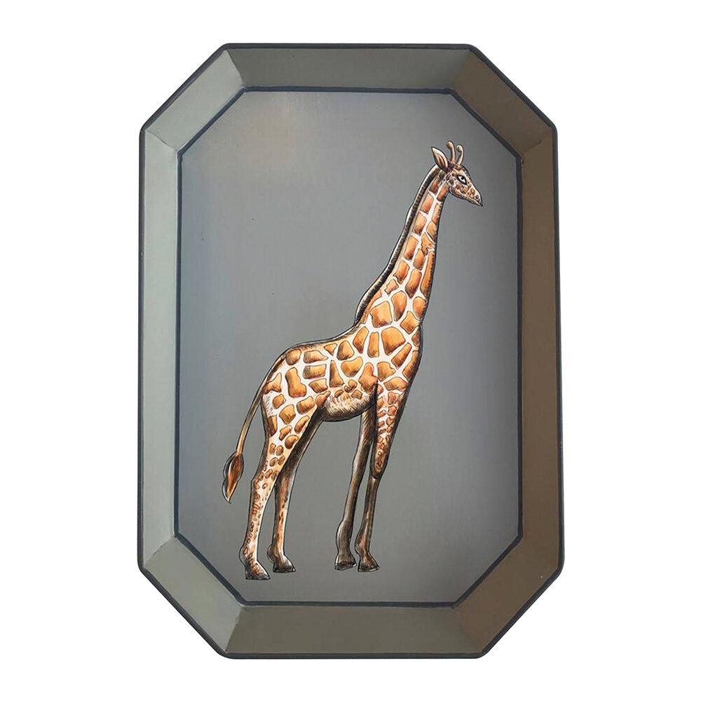 Giraffe iron Tray