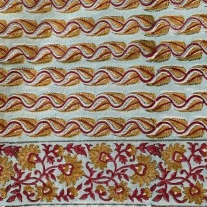 Handblock printed tablecloth