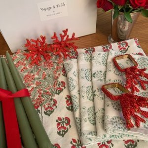 Xmas tablesetting gift set