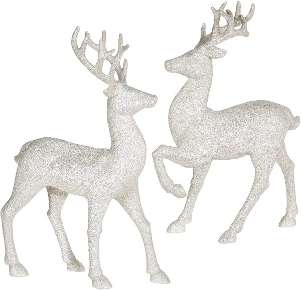 holiday reindeers figures