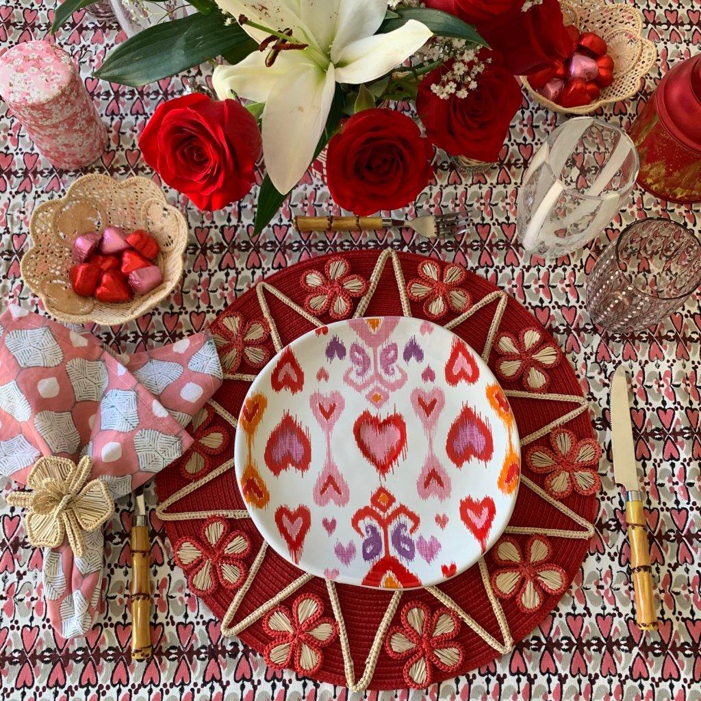 Valentine's Table Scape