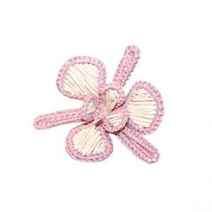 Iraca Napkin Rings pink